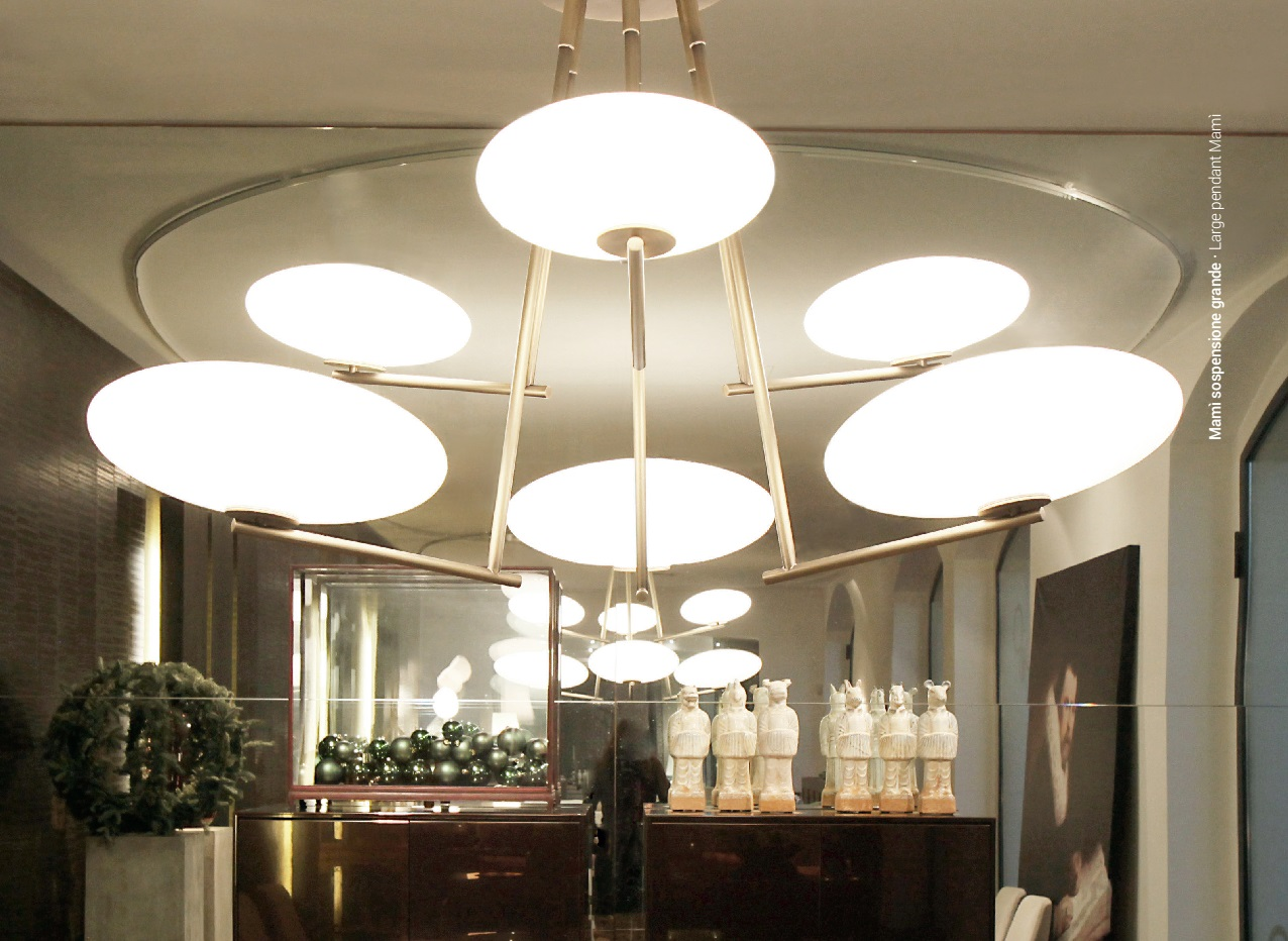 Lampade In Vetro Soffiato : Mamì penta lampade con diffusori in vetro soffiato