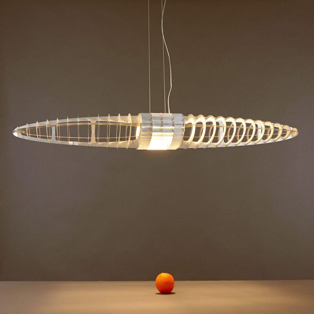 titania luceplan sospensione con filtri componibili. Black Bedroom Furniture Sets. Home Design Ideas