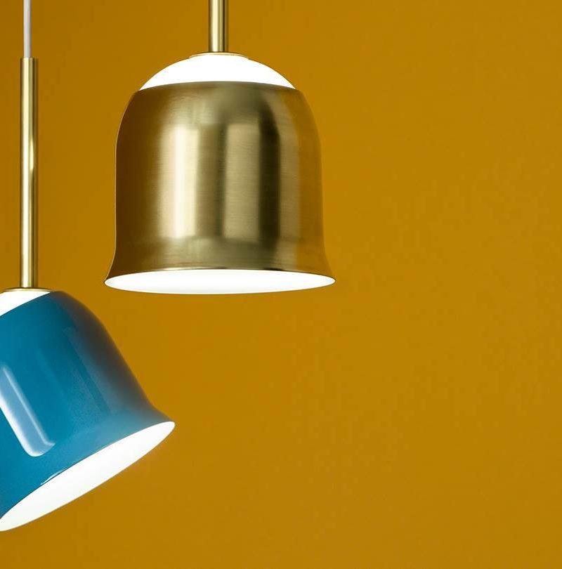 Narciso-Torremato-pendant-light-blue-and-brass-c4L-2